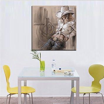 Gut Moderne Kunst Malerei Handgemalte Ölgemälde Frau Rahmenlose Leinwand Home  Küche Wandkunst Hintergrund Dekoration Wandbild Druckbereit Zu