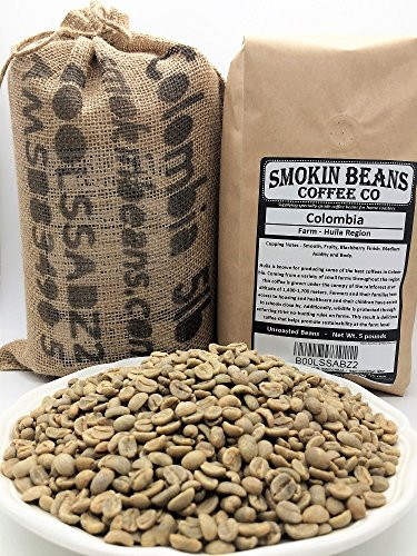 LBS Blackberry Specialty Grade Unroasted SMOKINBEANS product image