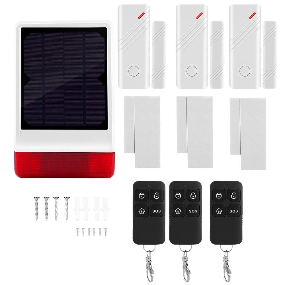 Kit de Sistema de Alarma Solar de Seguridad, Alarma de ...