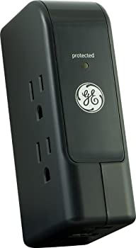 GE 3 Outlet and 2 USB Port 2.1 Amp Travel Surge Protector