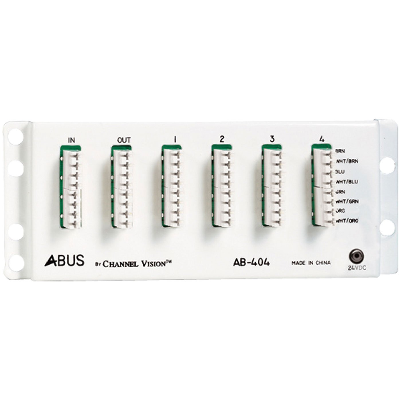 CHANNEL VISION AB-404 A-bus Panel Distribution Module