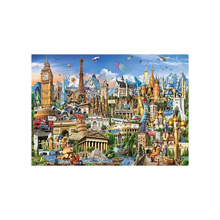Número de piezas: 2.000, medida aproximada una vez montado: 96 x 68 Serie Genuine Alta calidad de materiales y encaje óptimo de las piezas; producto respetuoso con el medioambiente