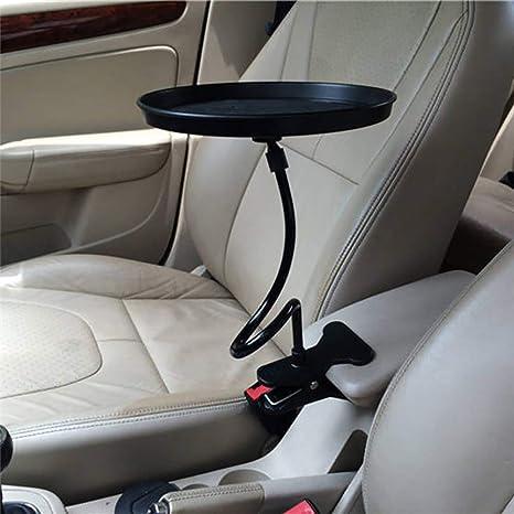 Hihey Auto Kfz Tablett Getränkehalter Becherhalter Dosenhalter Car Cup Holder 360 Car Swivel Round Tray Für Eine Organisierte Und Bequeme Zeit Im Auto Küche Haushalt