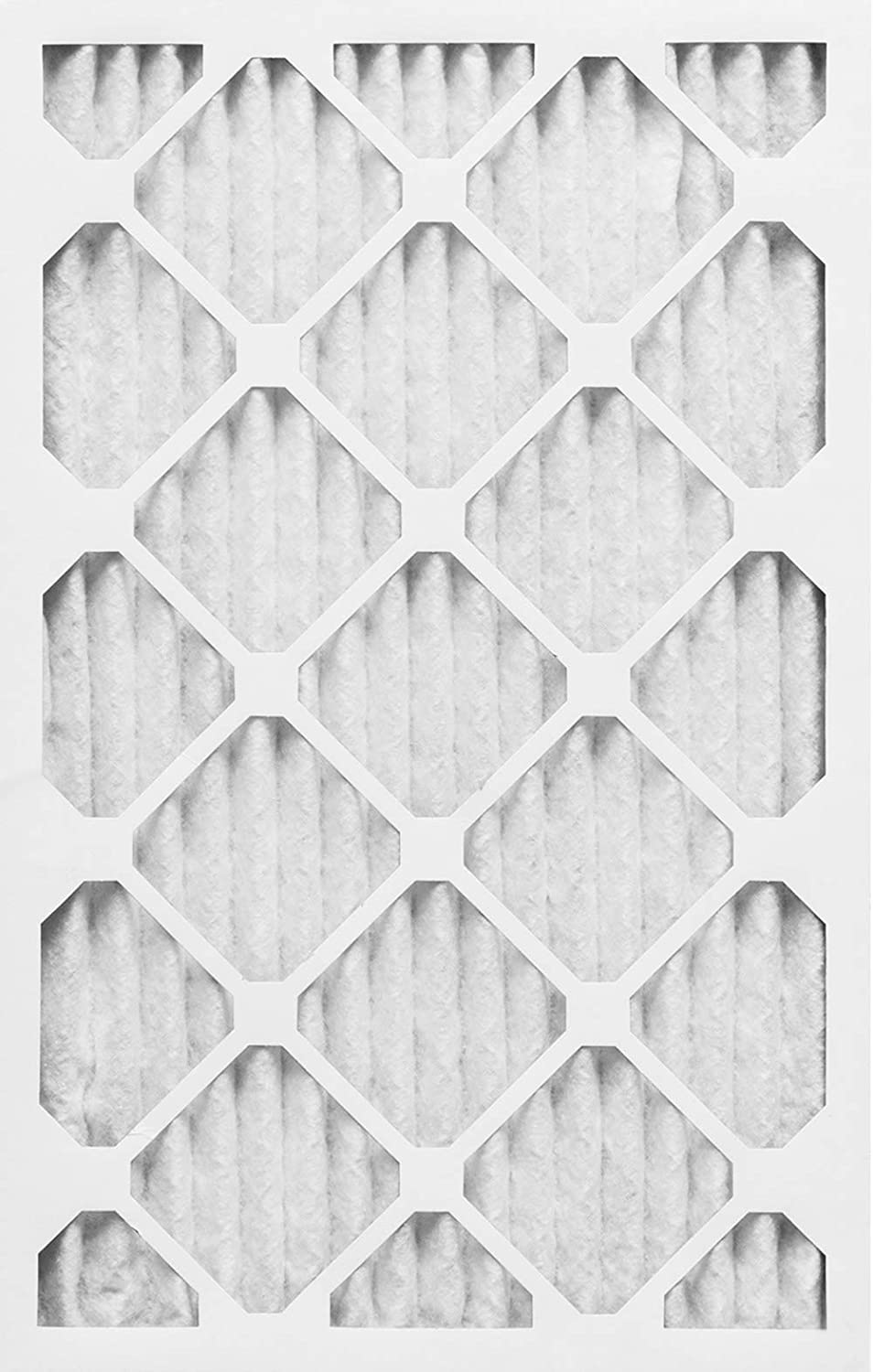 Nordic Pure 16/_3//8x21/_1//2x1 Exact MERV 8 Pure Carbon Pleated Odor Reduction AC Furnace Air Filters 6 Pack