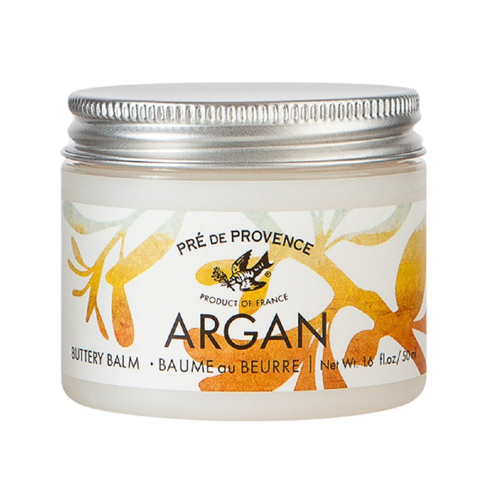 Pre de Provence, Moroccan Argan Oil Buttery Balm for Dry Skin - Citrus