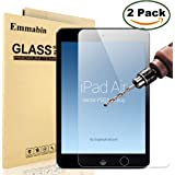 """[2 Pack] iPad Air / iPad Air 2 / Pro 9.7"""" Screen Protector, Emmabin 0.26mm 9H Tempered Glass Screen Protector for Apple iPad Air (iPad 5)/ iPad Air 2 (iPad 6) / iPad Pro"""