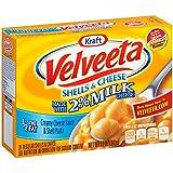Kraft Velveeta Shells and Cheese with 2 Percent Milk, 12 oz