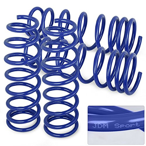 Jdm Blue Suspension Lowering Coiled Springs Set For Civic/Integra