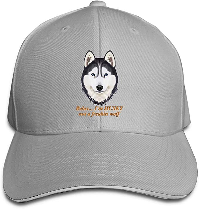 Gorra Snapback Unisex, Relájate Soy Husky Not A Freakin Wolf ...