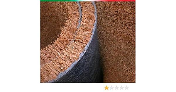Felpudo de fibra de coco a medida, de múltiplos de 10 cm por 1 m de altura: Amazon.es: Hogar