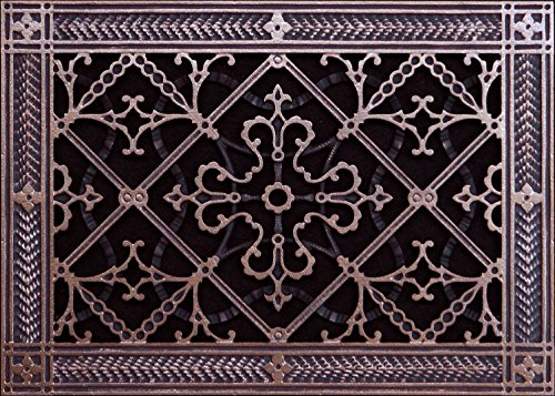 - Decorative Grille, Vent Cover, Register. Made of Resin to fit a 8