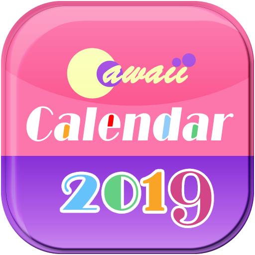 Cawaii Calendar 2019-2020 for Fire tablet ()