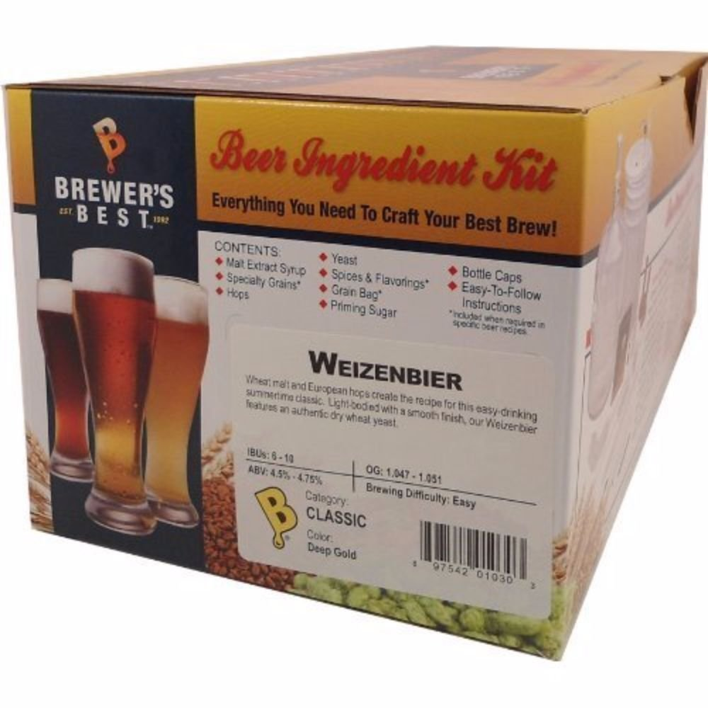 Home Brew Ohio B00AI9EJ5U FBA_1148434 Brewers Best Weizenbier Beer Ingredient Kit by Home Brew Ohio (Image #2)
