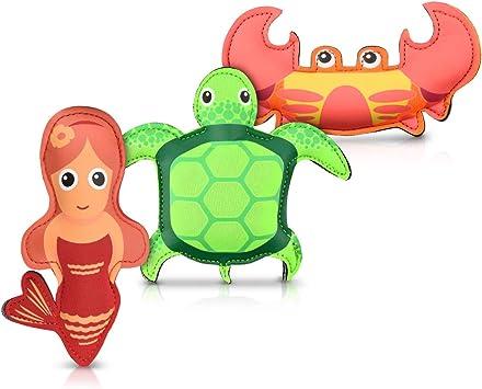 Navaris Set 3 Juguetes sumergibles - Juegos de Agua para niños de ...
