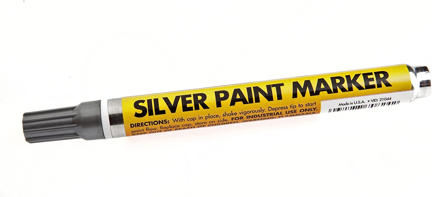 Forney 70824 Marker, Paint, Silver