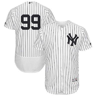 cheaper 53866 2fb1e Amazon.com: Aaron Judge #99 New York Yankees Home Flex Base ...