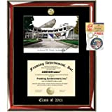 Amazon Com San Francisco State University Diploma Frame School Lithograph Major Logo Sfsu Degree Display College Certificate Graduation Gift Plaque Black Matted University Diploma Frames Clothing