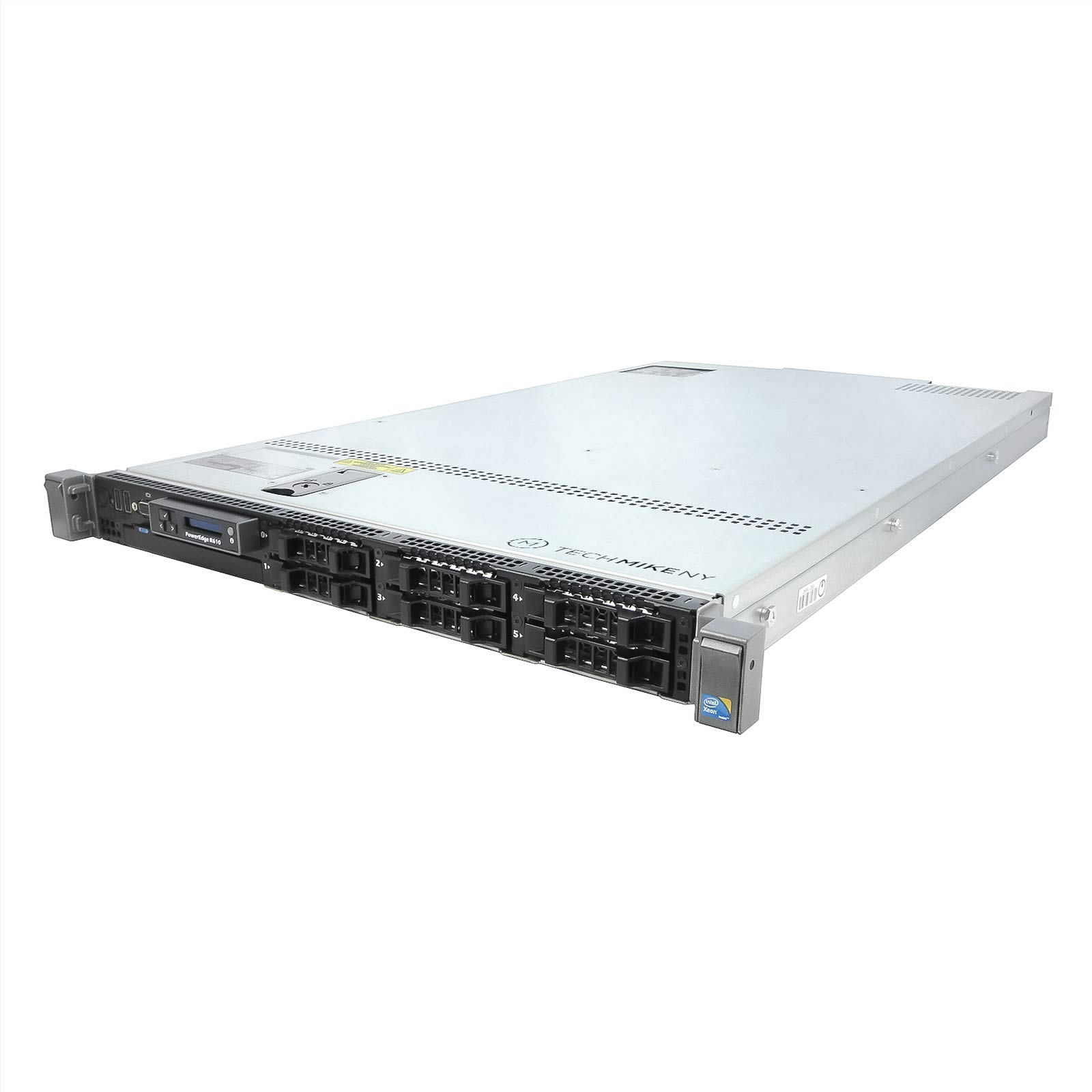 Enterprise Dell PowerEdge R610 Server 2 x 2.66Ghz X5650 6C2 x 146GB 15K SAS (Renewed)