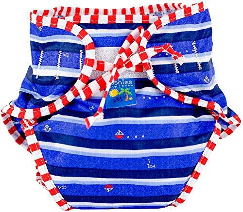 Kushies Swim Diaper Print Medium