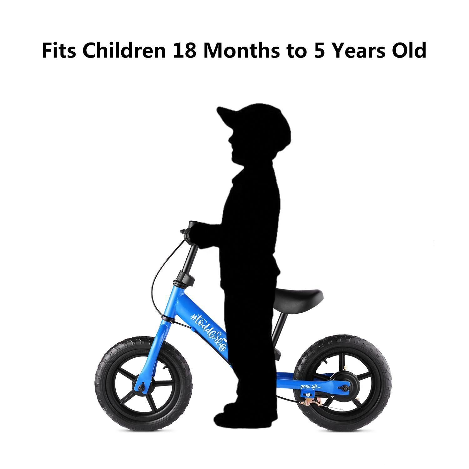 Road Bikes 110lbs Capacity for Ages 3 to 6 Years Old Adjustable ...