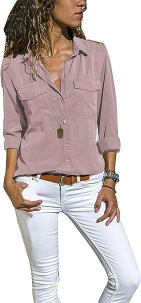 Schlicht und gleichzeitig äußerst elegant Bluse