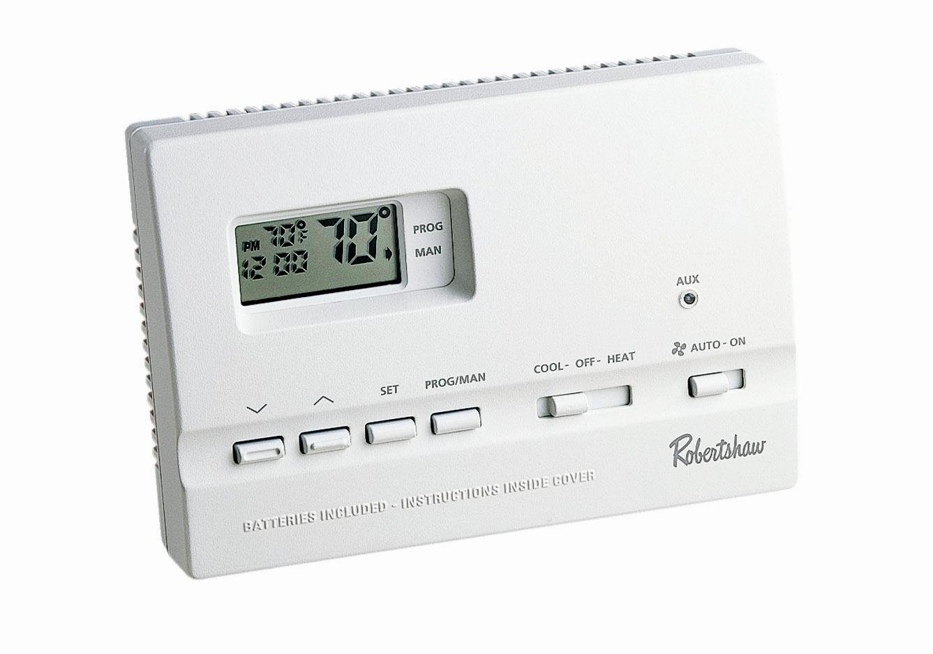 ROBERTSHAW 9615* DIGITAL PROGRAMMABLE THERMOSTAT - Home And Garden Products - Amazon.com
