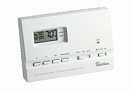 robertshaw 9615 digital programmable thermostat home and garden rh amazon com
