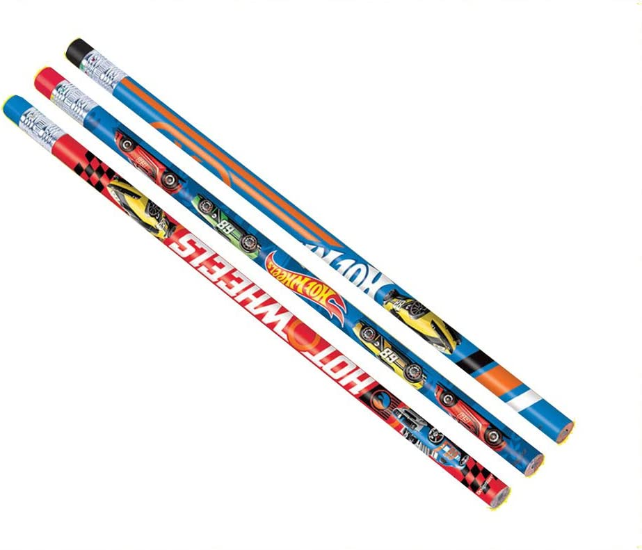 Dropship 396518 Party Favor TradeMart Inc - Hot Wheels Wild Racer Pencils