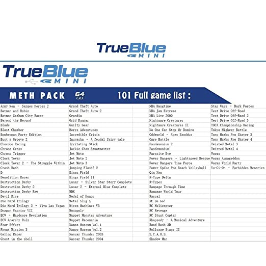 Amazon com: Volwco 3Pack True Blue Mini Pack for Playstation