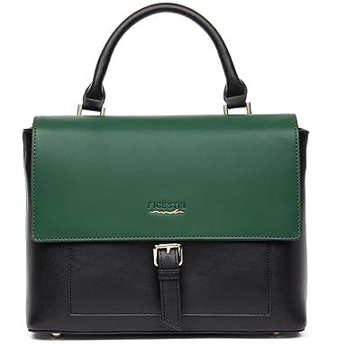Amazon.com  FIGESTIN Women handbag Shoulder Bags Leather Tote Purse Designer  Top Handle bag Satchel for Ladies  Clothing 9181ab3ce7e3d