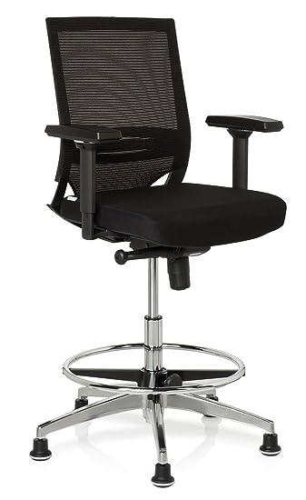 Fabulous hjh OFFICE 657550 Arbeitsstuhl Counterstuhl TOP WORK 77 Polster BL35