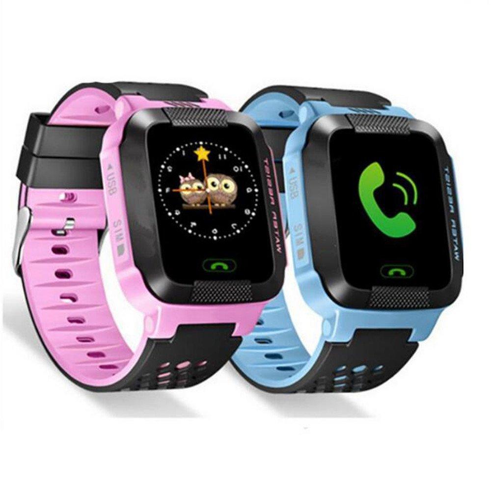 Q528 Reloj inteligente para niños GPS reloj con cámara LBS ...