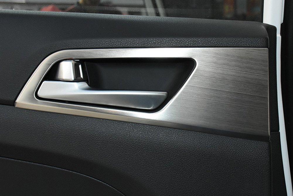 Portiera Auto manico ciotola coperchio rivestimento interno decorazione per Tucson terza 2015 + 2016 inox aessori LHD ACiooCo