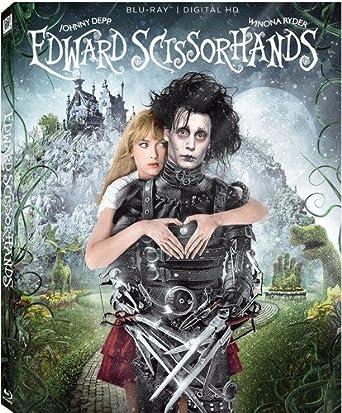 Edward Scissorhands 25th Anniversary Blu Ray