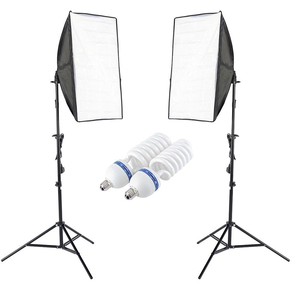 Kit de iluminaci/ón Continua para fotograf/ía Negro Walimex 20373