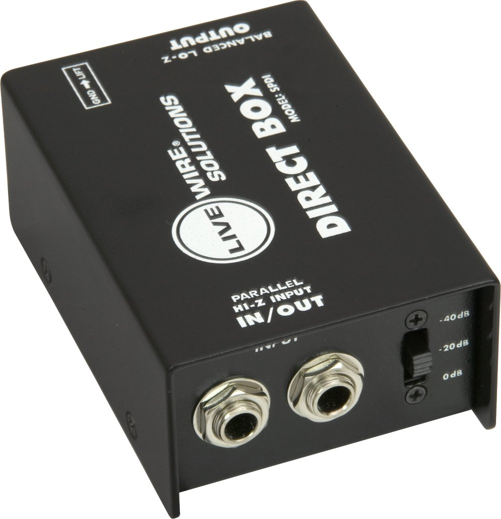 Livewire SPDI Passive Direct Box with Attenuation Pad by Live Wire (Image #1)