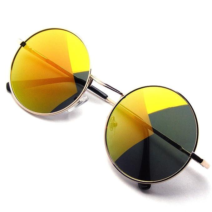 Lennon Occhiali John Hippie Emblem Ispirato Da Ha Tondo Sole Eyewear Y6bg7vyfI