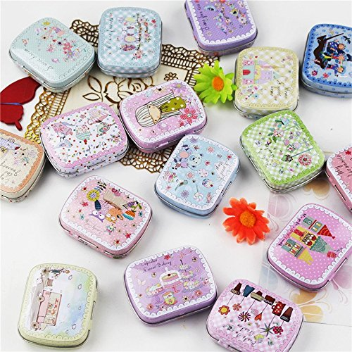 BranXin - 12 Pieces/lot MiNi cake iron box candy storage box