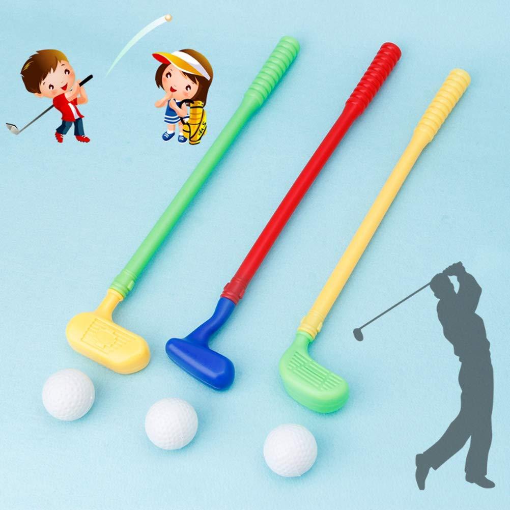 Yissma Palos de Golf/Juego de Golf para niños Juguetes ...