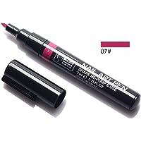 Coloured drawing pen Dual-use nail polish pen 16 colors