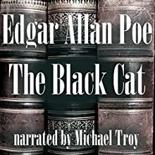 The Black Cat Audiobook by Edgar Allan Poe Narrated by Michael Troy