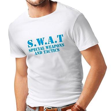 lepni.me Camisetas Hombre SWAT - Equipo de Armas y Tácticas ...