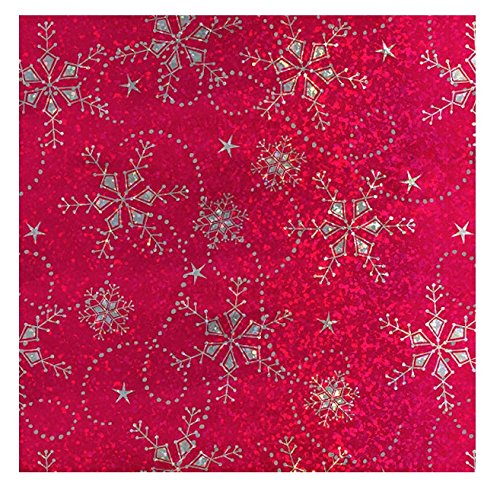 Holiday Red Snowflake - 8