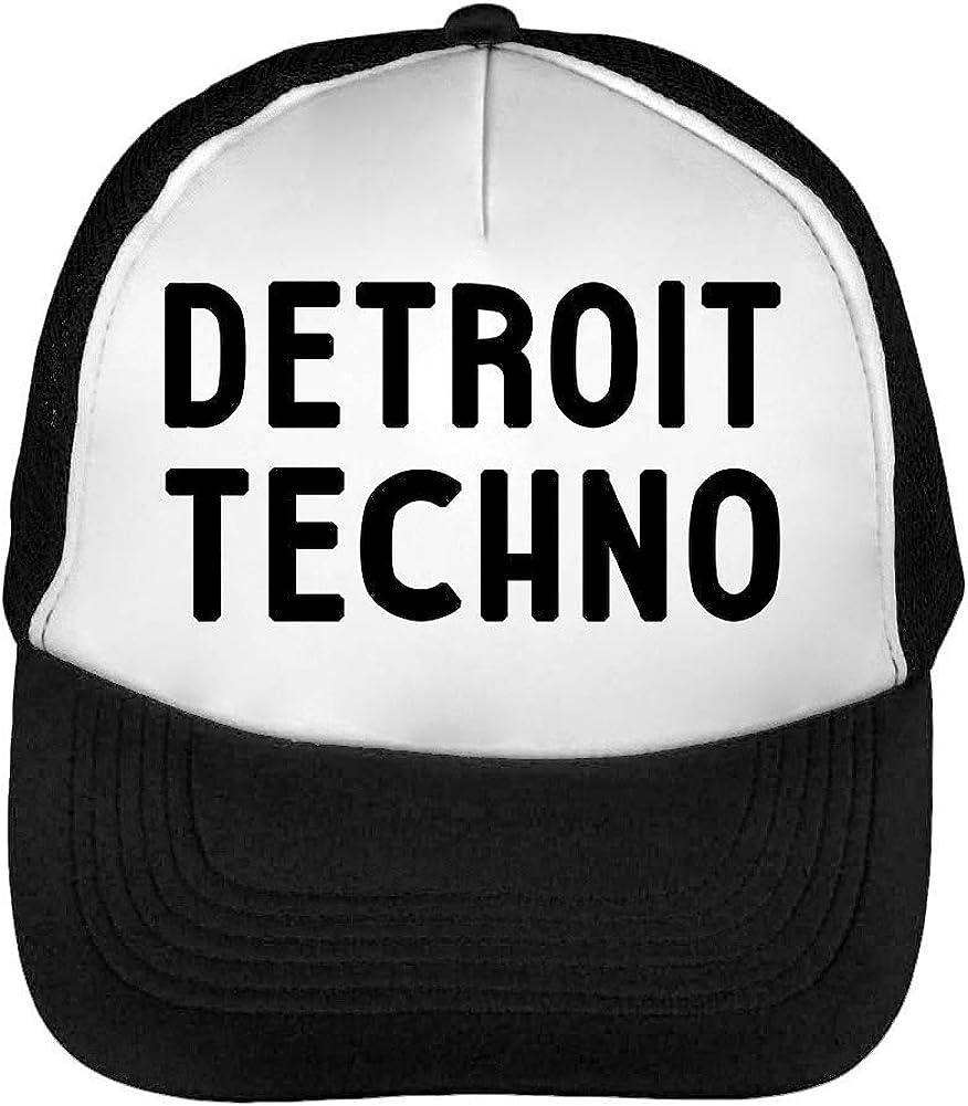 Detroit Techno 909 303 808 Acid Gorras Hombre Snapback Beisbol ...