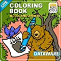 Coloring Book 27 Lite: Woodland Animals [Download]