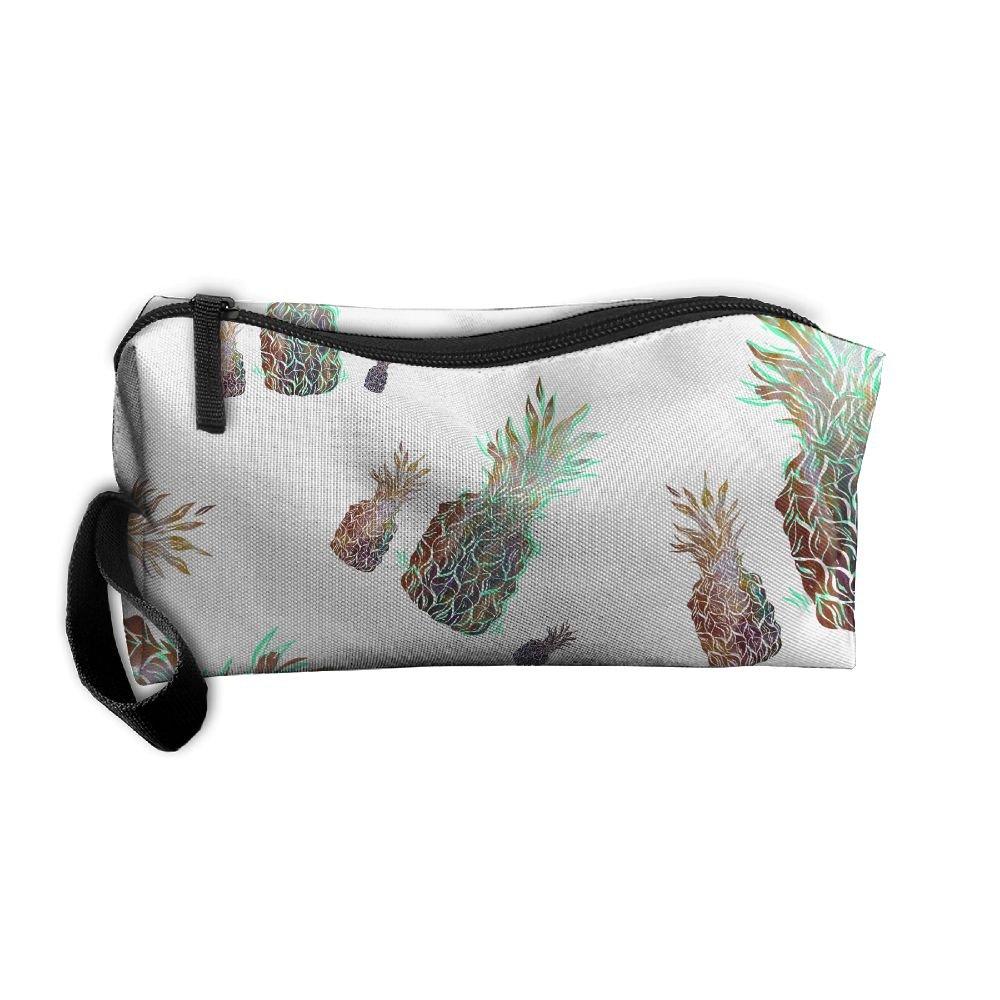 47b4ec7cd6c6 hot sale Galaxy Pineapple Colortone Women Storage Travel Kit Canvas ...