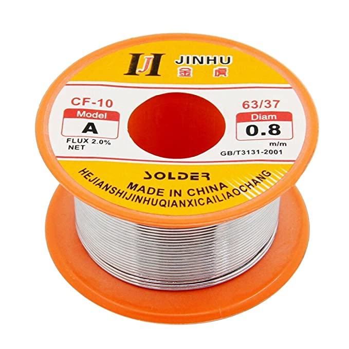 Amazon.com: OUNONA Flux Cored Welding Wire - Tin Lead Rosin Core Solder Wire for Electrical Soldering: Home & Kitchen