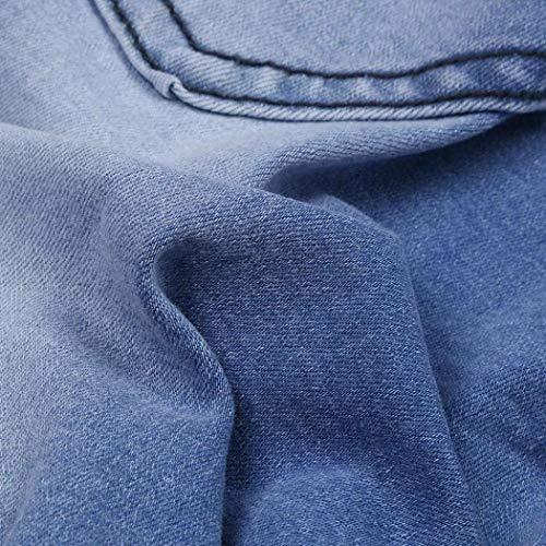 Blau Hiphop Pantaloni Streetwear Estilo Nn Slim Moda Trouser Fit Jeans Demin Da Jogger Uomo Moto Especial Sportivi 4rPB4a81