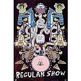Erik editores Regular Show–Group Poster–61x 91.5cm