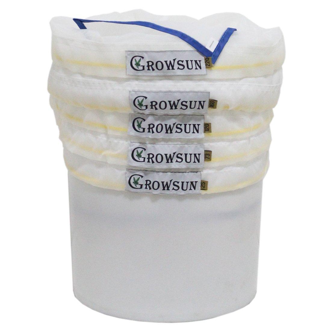 Growsun All Mesh Bubble Hash Bags … (20-Gallon 5-Bag) Estarhydro
